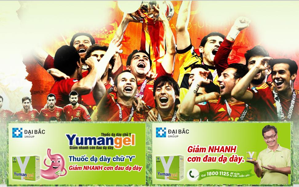 Sân chơi được tài trợ bởi Yumangel - Thuốc dạ dày chữ Y