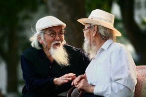 tình bạn tuổi già