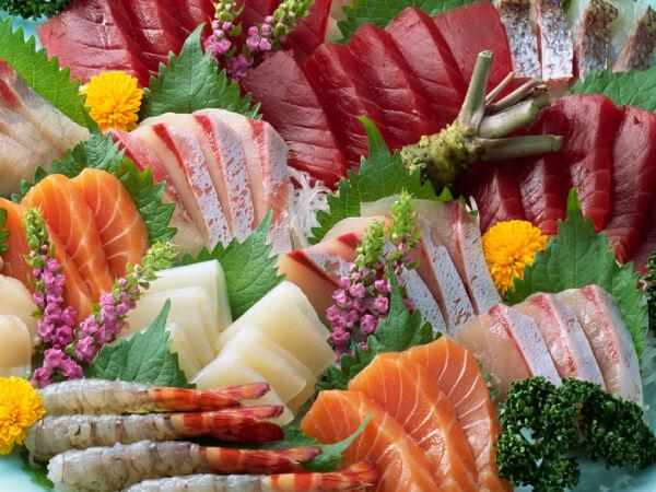 Thịt, hải sản,...